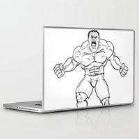 hulk Laptop & iPad Skins featuring Hulk by Carrillo Art Studio