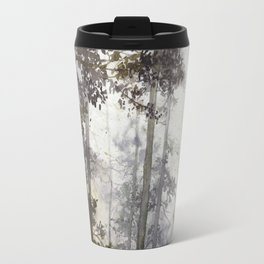 Wet Morning in the Forest Travel Mug