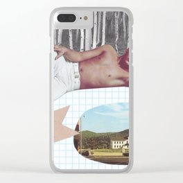 Thinkin' on You Clear iPhone Case