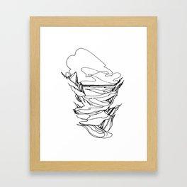 Tidal Flow Framed Art Print