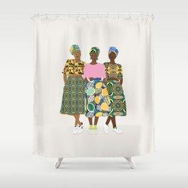 GIRLZ BAND II Shower Curtain