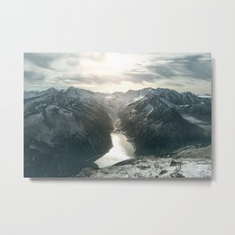 Mountain Panorama Metal Print