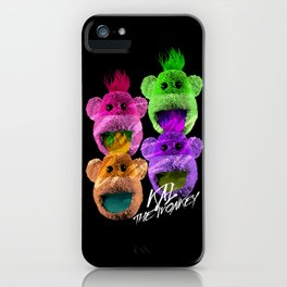 Kal the Monkey - Kal Warhol iPhone Case
