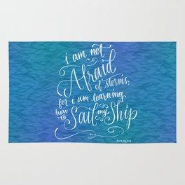 Sail My Ship Rug
