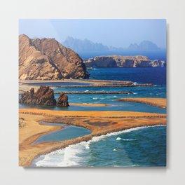Yiti Beach Oman Metal Print