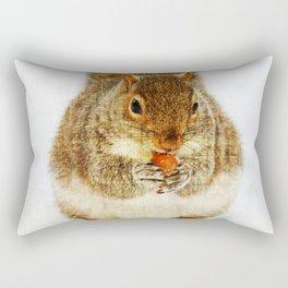 Squirrel with an Acorn Rectangular Pillow