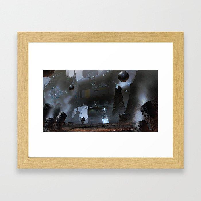 Mercury Mining Framed Art Print
