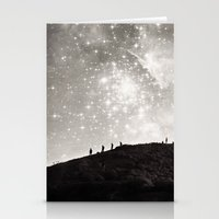 starry night Stationery Cards featuring Starry Night  by Laura Ruth