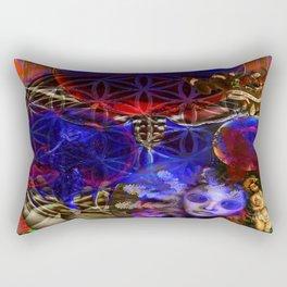 Flower of creation Rectangular Pillow