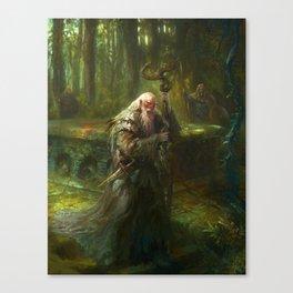 Mythic Britain - Merlin Canvas Print