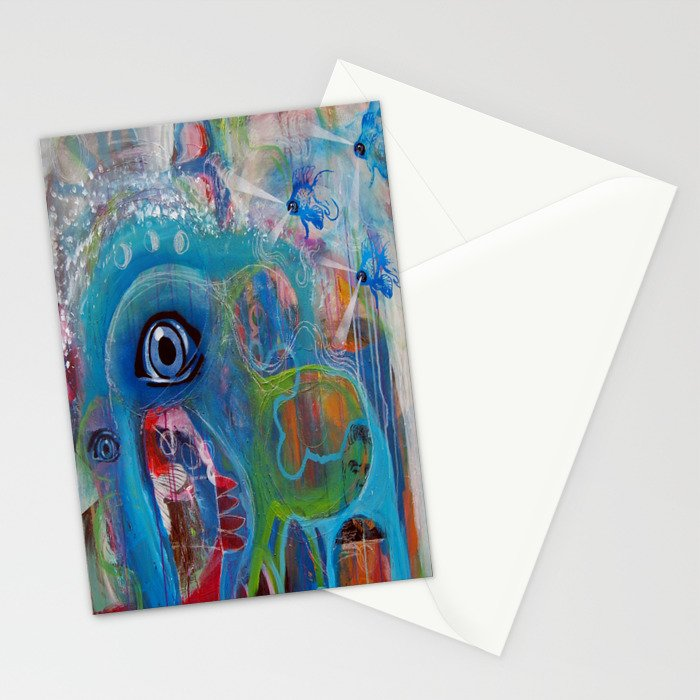 The Watering Hole Stationery Cards