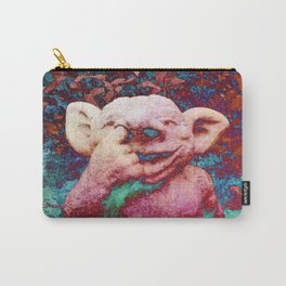 Nose-picking gnome Carry-All Pouch