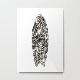 SURFBOARD print Metal Print