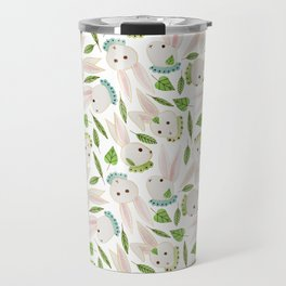 Rabbits in Ruffles Travel Mug