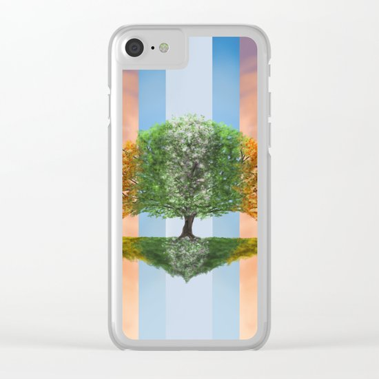Seasons (alternative version) Clear iPhone Case