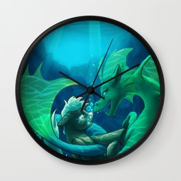 Siren's Song Wall Clock