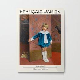 Vintage poster - François-Joseph Damien (Belgian, 1879-1973) Hide and seek. Metal Print