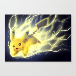 Volt Tackle Canvas Print