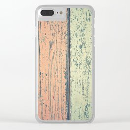 Abstract Background Clear iPhone Case