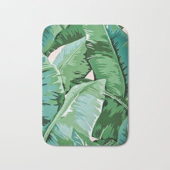 Banana leaf grandeur II Bath Mat
