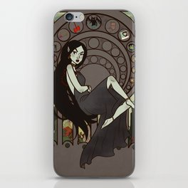 Queen of Darkness iPhone Skin
