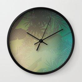 Palm Stories 2 Wall Clock
