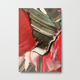 Layer Paint Metal Print