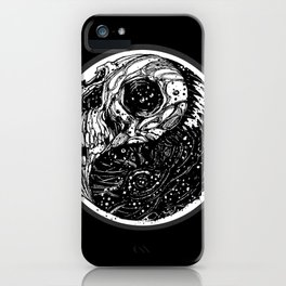 yin yang (evil and evil) - 2014 iPhone Case
