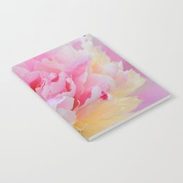 Joy of a Peony by Teresa Thompson Notebook