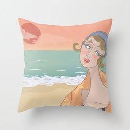 ◯ Summer Sunset ◯ Throw Pillow