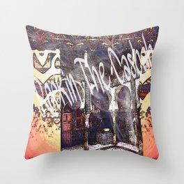 ROCKIN' THE CASBAH Throw Pillow