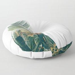 Wandering Floor Pillow