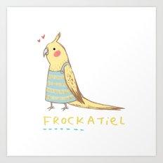 Frockatiel Art Print