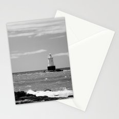 Sakonnet Point Lighthouse B&W Stationery Cards