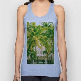 Art Deco Miami Beach #17 Unisex Tank Top
