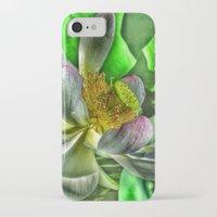 lotus iPhone & iPod Cases featuring Lotus by Joke Vermeer