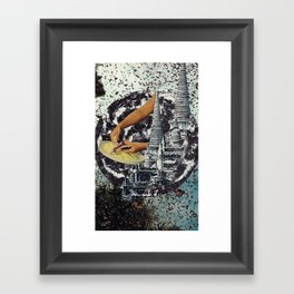 Possessed to Impress Framed Art Print