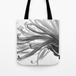 Spider Mum Black and White 2 Tote Bag