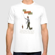 The fisher king Mens Fitted Tee White MEDIUM