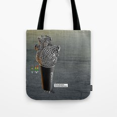 CRZN Dynamic Microphone Tote Bag