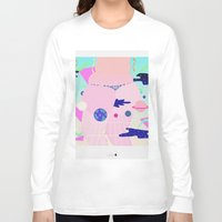 internet Long Sleeve T-shirts featuring internet by Alba Blázquez