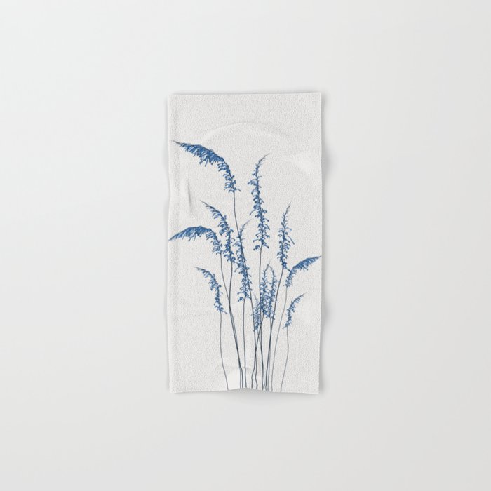 Blue flowers 2 Hand & Bath Towel