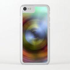 Rainbow Eye Clear iPhone Case
