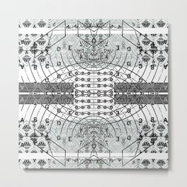 Transverse Vibration 3 Metal Print