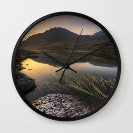 Tryfan Mountians Wall Clock
