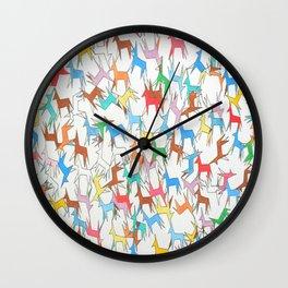 ColourBurst Horses Wall Clock