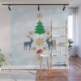 Christmas Wall Mural