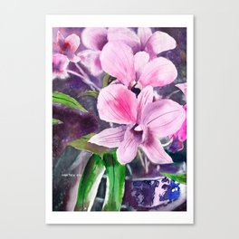 20121005 Marvin's Orchid Canvas Print