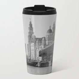 Three Graces Liverpool Travel Mug