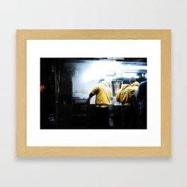 Halal Framed Art Print